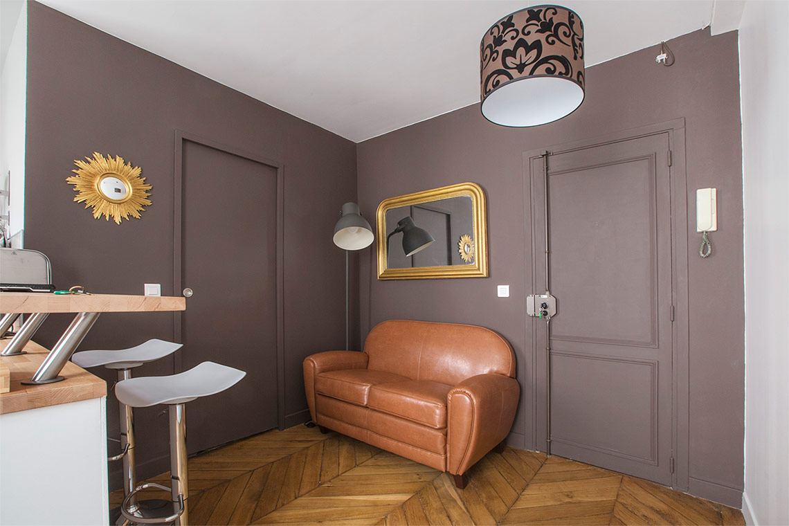 Furnished apartment for rent Paris Rue André Antoine