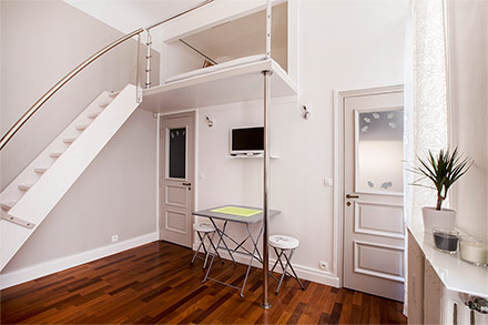 Location studio meubl rue de la tour paris ref 11128 for Location meuble tours