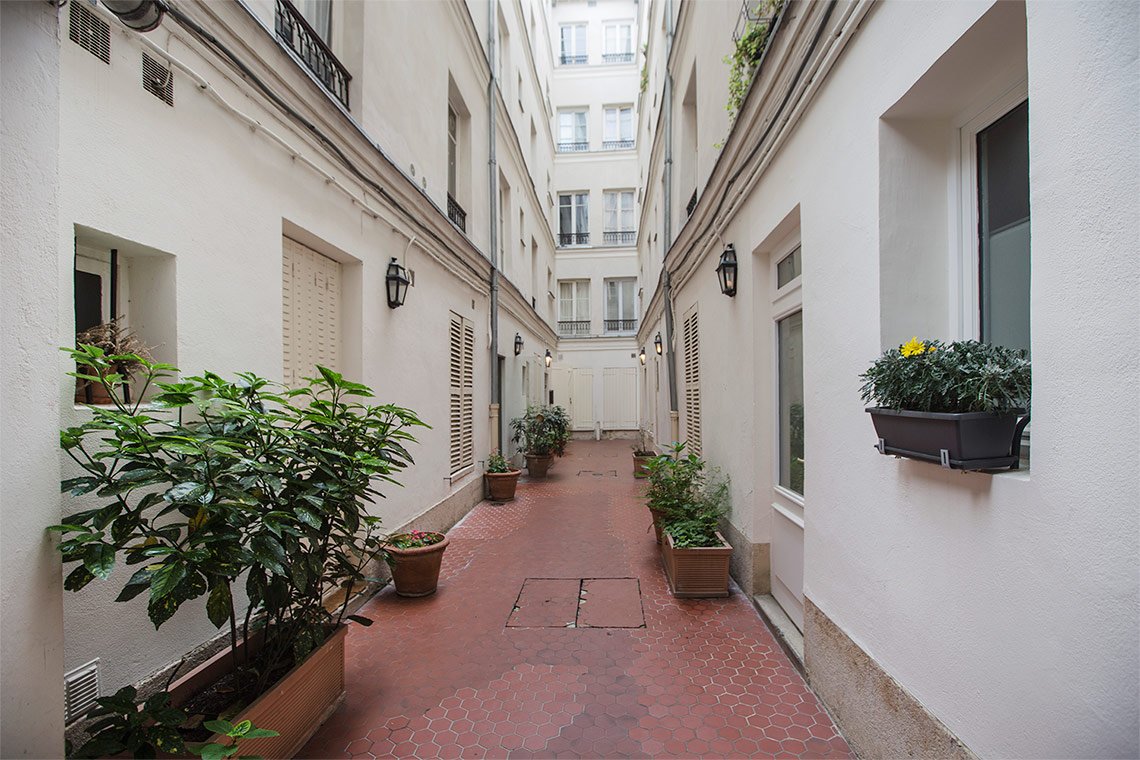 Apartment Paris Rue des Boulangers 9
