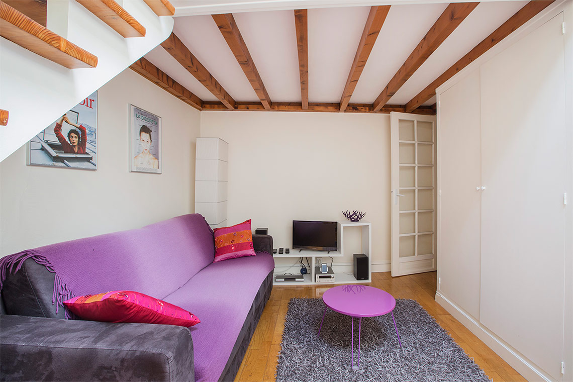 Apartment Paris Rue des Boulangers 2