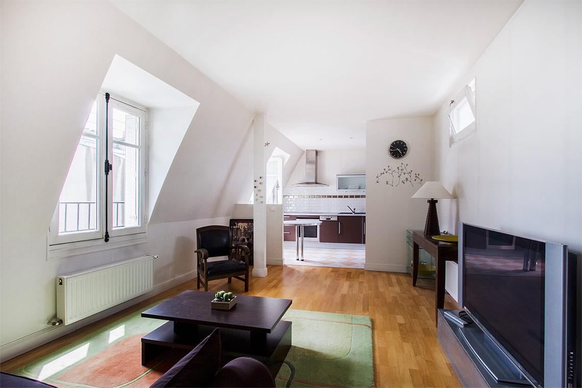 Location appartement meubl rue de courcelles paris ref for Appartement meuble paris