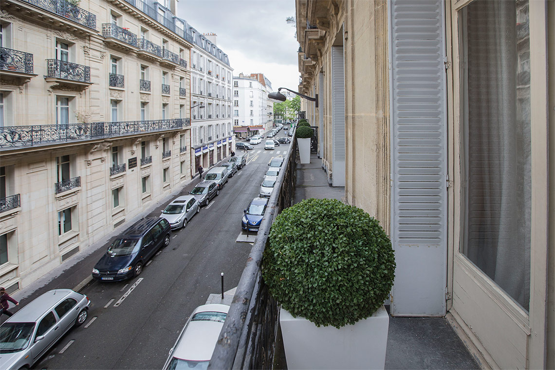 Appartement Paris Rue Pierre Demours 14