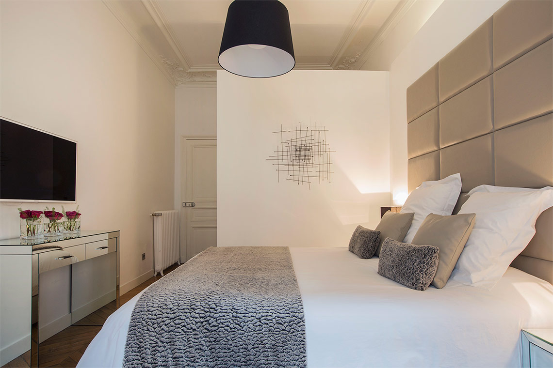 Appartement Paris Rue Pierre Demours 7