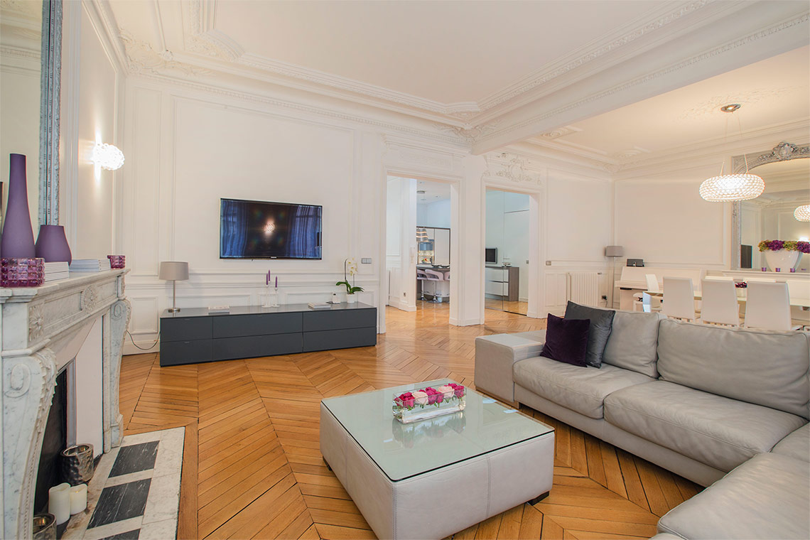 Appartement Paris Rue Pierre Demours 2