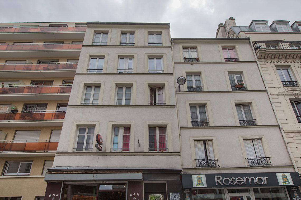 location studio meubl rue de montreuil paris ref 11189. Black Bedroom Furniture Sets. Home Design Ideas