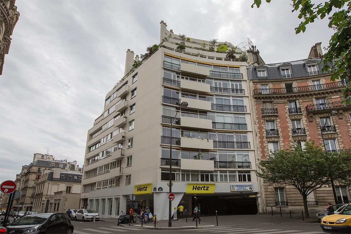 Appartement Paris Rue Saint Ferdinand 10