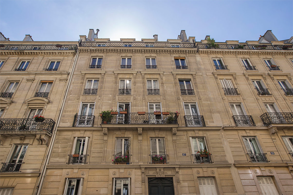 Appartement Paris Rue de Berne 12