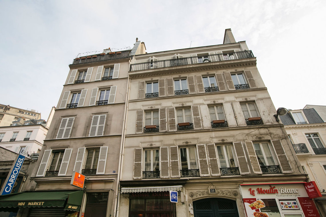 Appartement Paris Rue Pierre Fontaine 11