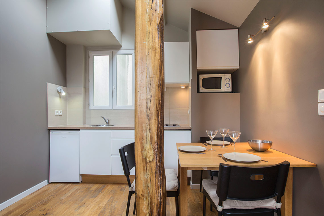 Appartement Paris Rue Asile Popincourt 4