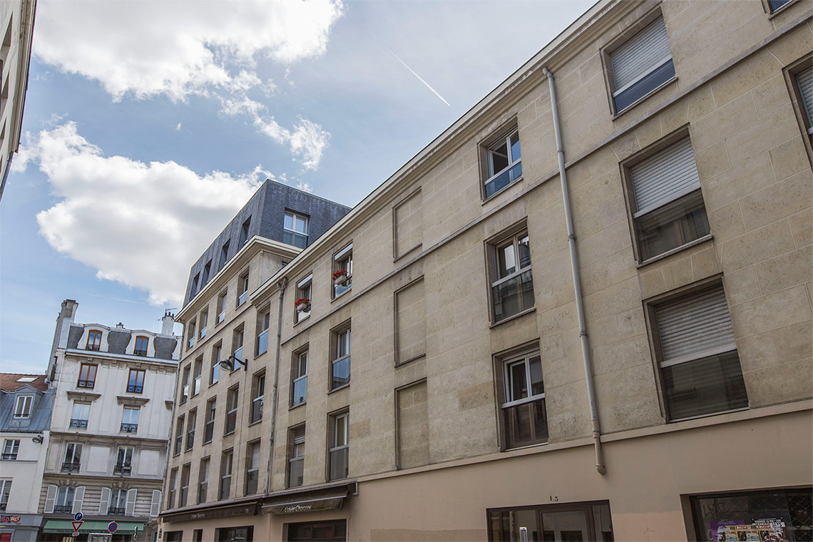 Appartement Paris Passage Thiéré 10