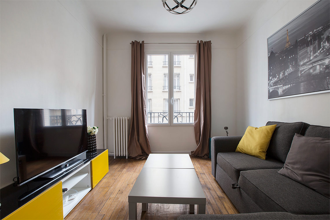 Paris Rue Félicien David Apartment for rent