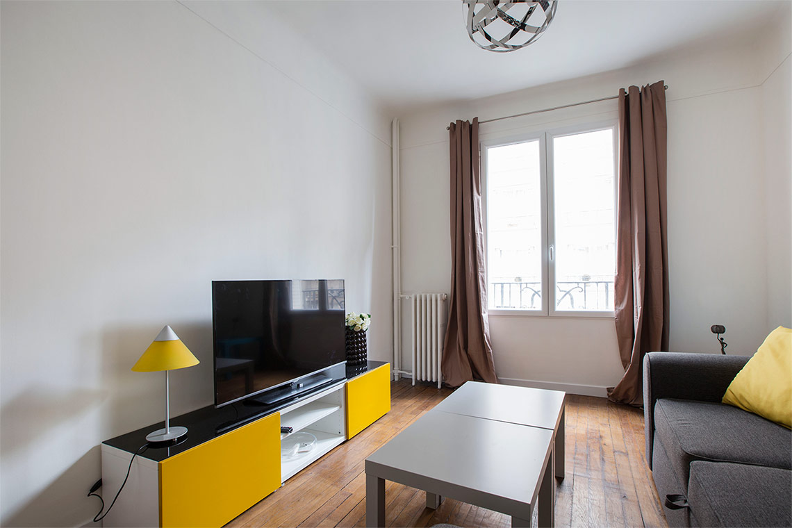 Apartment Paris Rue Félicien David 4