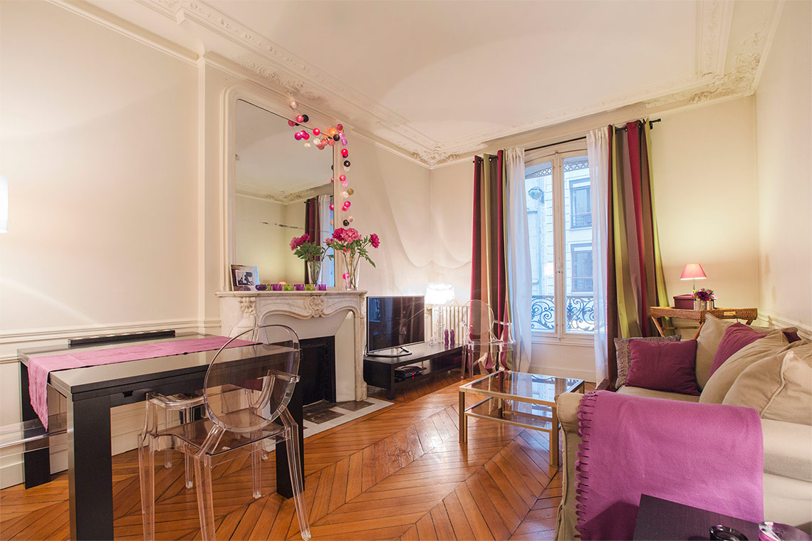 Appartement Paris Rue Erlanger 8