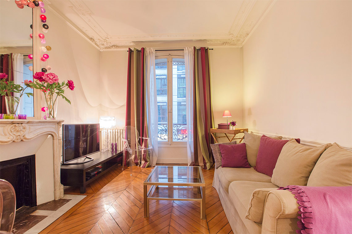 Appartement Paris Rue Erlanger 9