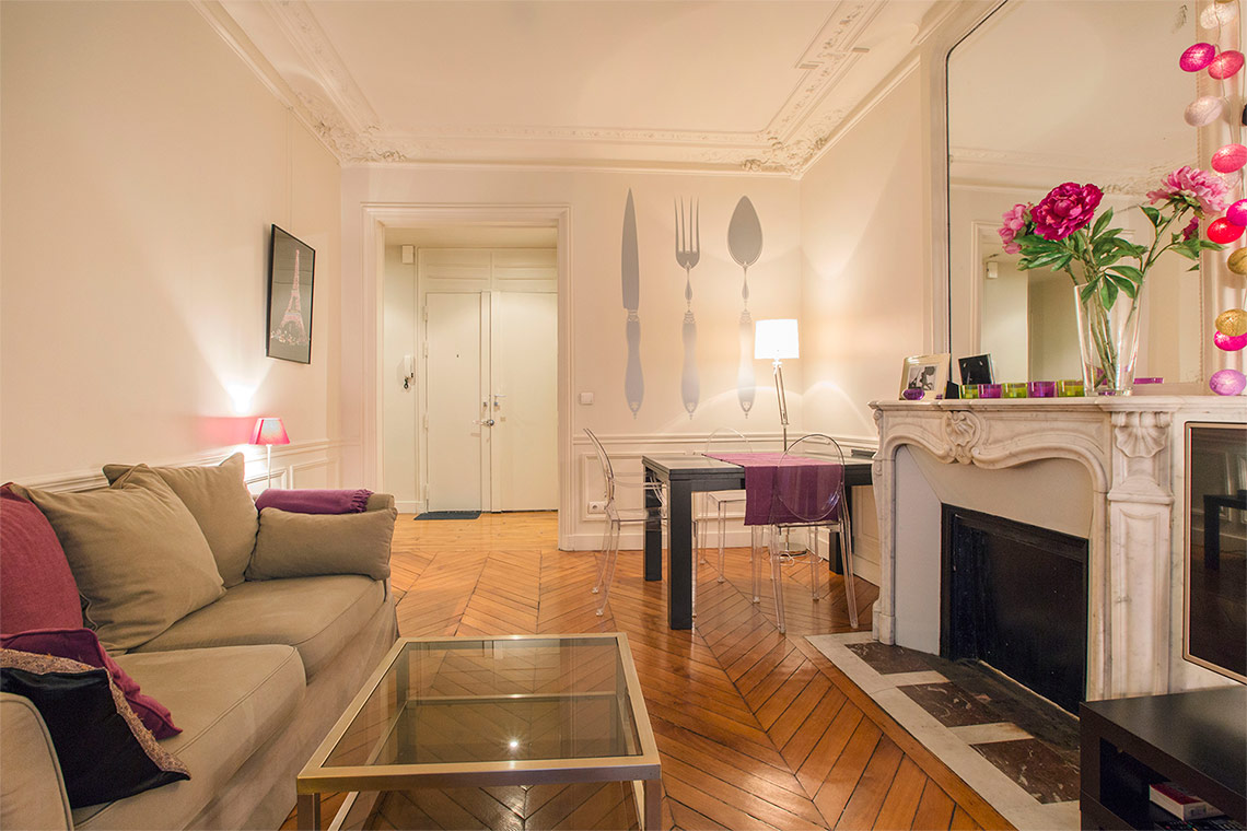 Appartement Paris Rue Erlanger 11