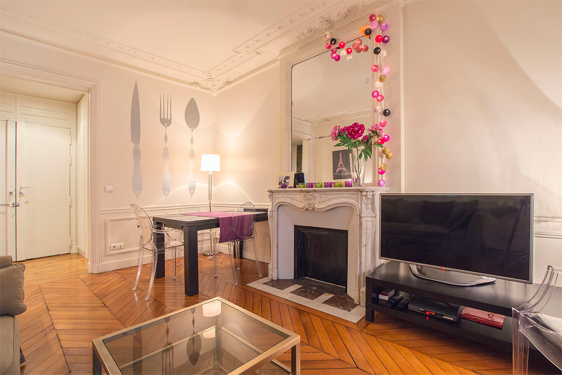 Appartement Paris Rue Erlanger 12