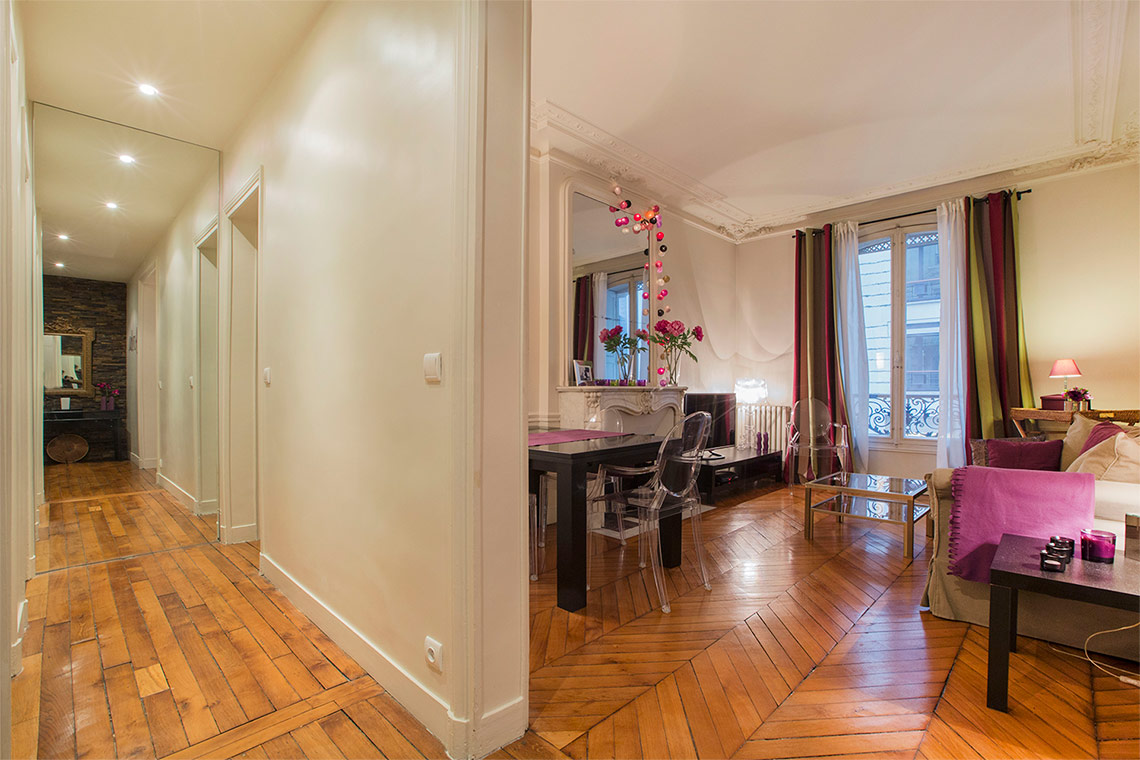 Appartement Paris Rue Erlanger 13