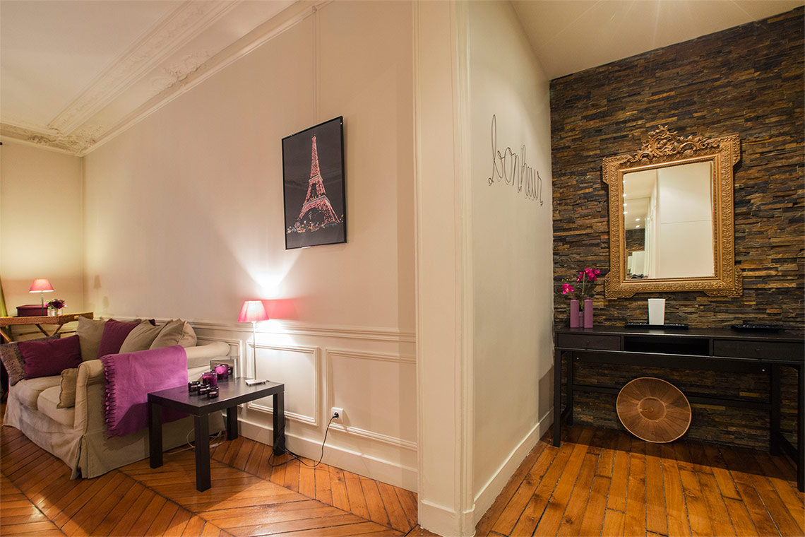 Appartement Paris Rue Erlanger 14