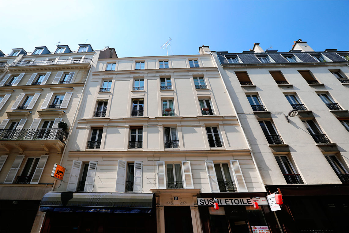 Apartment Paris Rue Troyon 12