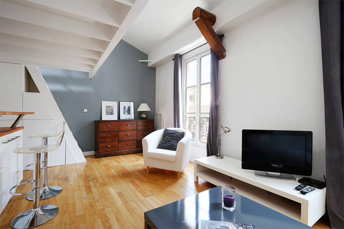Apartment Paris Rue Troyon 3