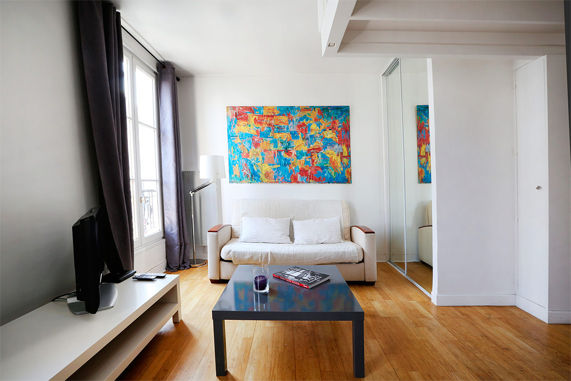 Apartment Paris Rue Troyon 6