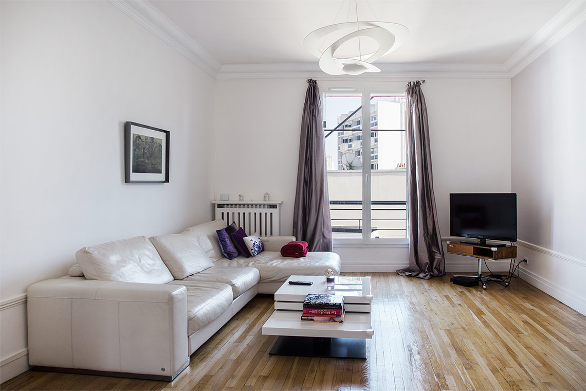 Furnished apartment for rent Paris Rue Alexandre Cabanel