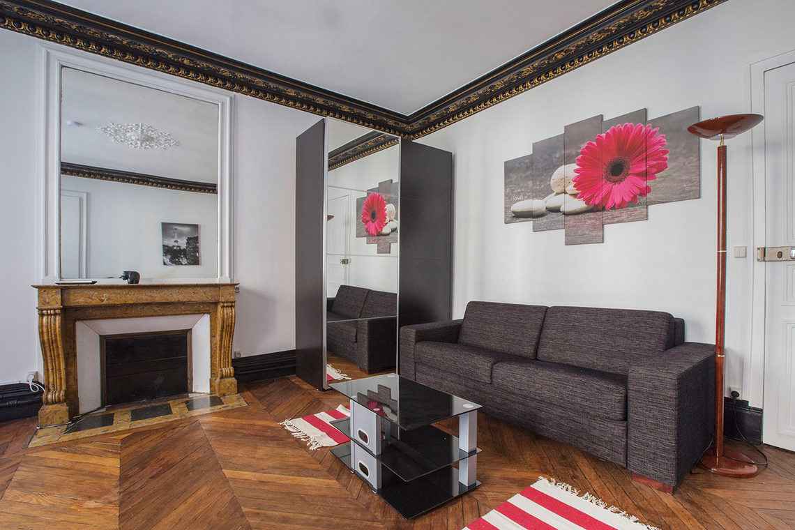 Furnished apartment for rent Paris Rue Greffulhe