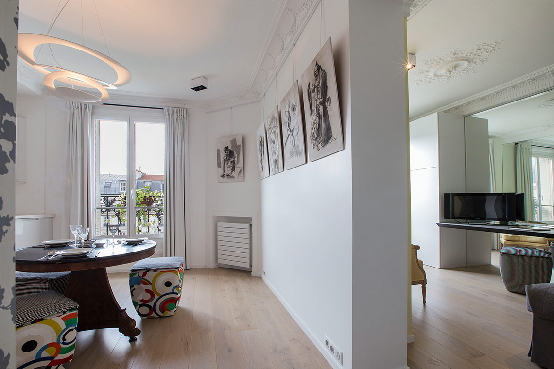 Location appartement meubl boulevard de grenelle paris for Salon cuisine paris