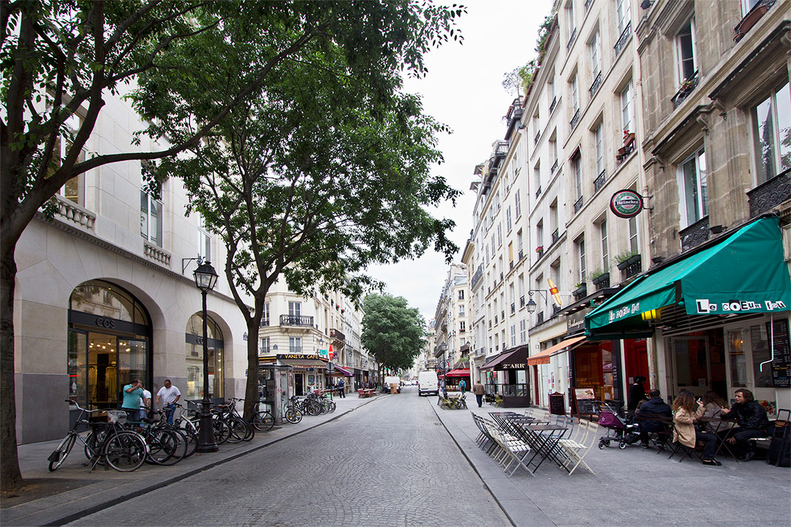 Квартира Paris Rue Reaumur 13