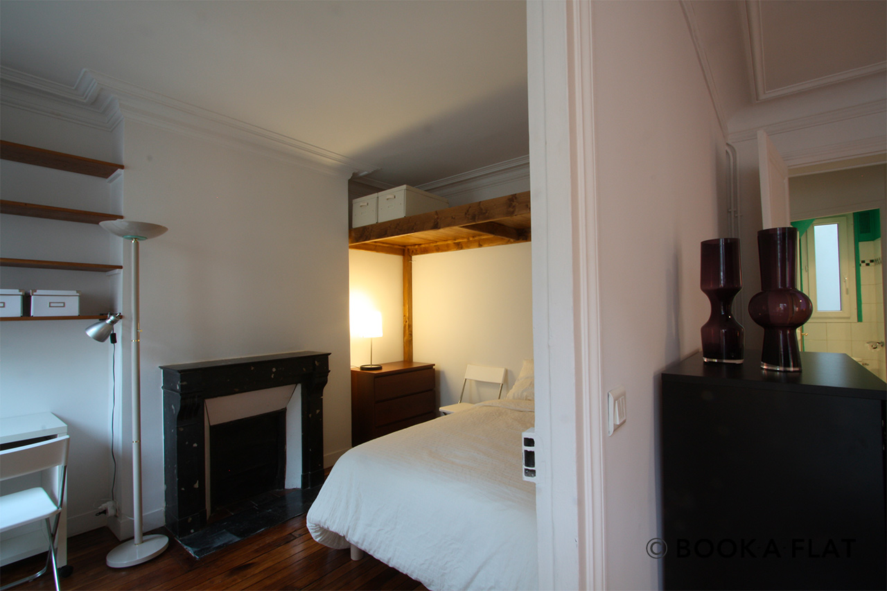 Appartement Paris Rue d'Edimbourg 10