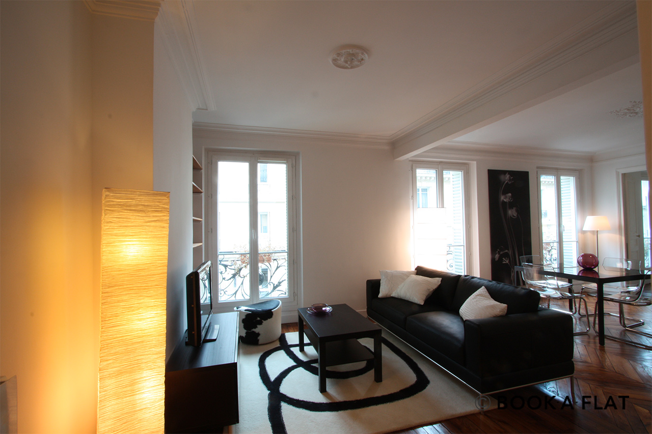Furnished apartment for rent Paris Rue d'Edimbourg