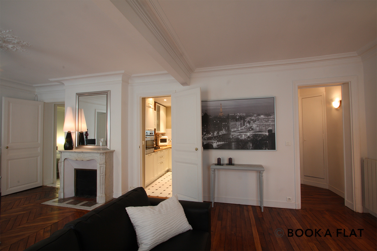 Appartement Paris Rue d'Edimbourg 5