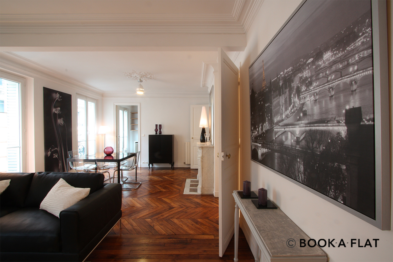 Appartement Paris Rue d'Edimbourg 2