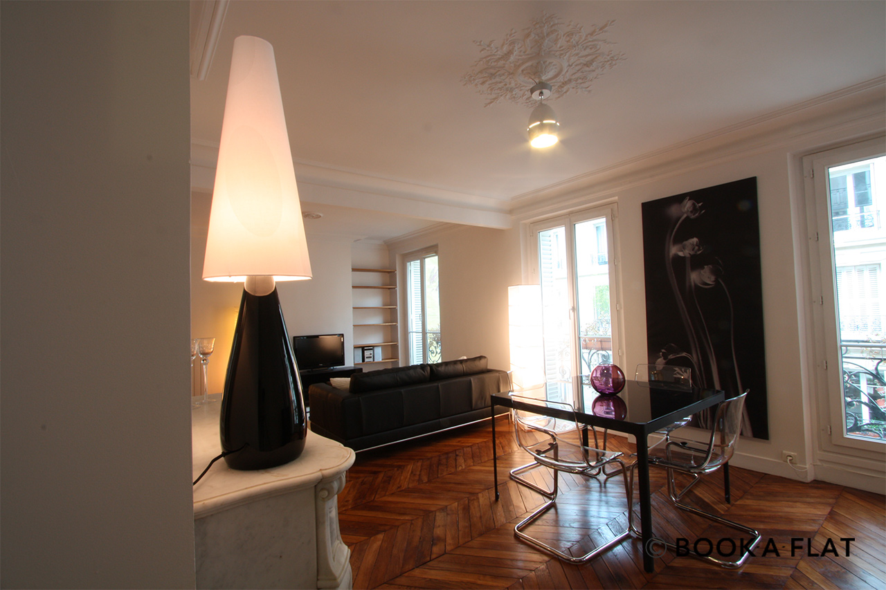 Appartement Paris Rue d'Edimbourg 6