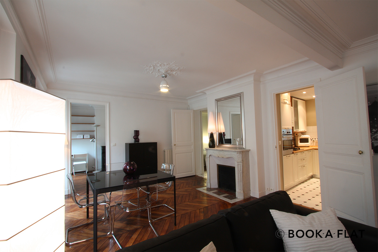 Apartment Paris Rue d'Edimbourg 3