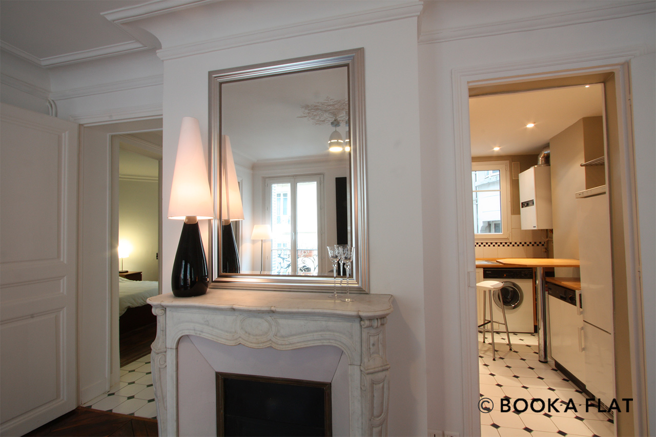 Appartement Paris Rue d'Edimbourg 4