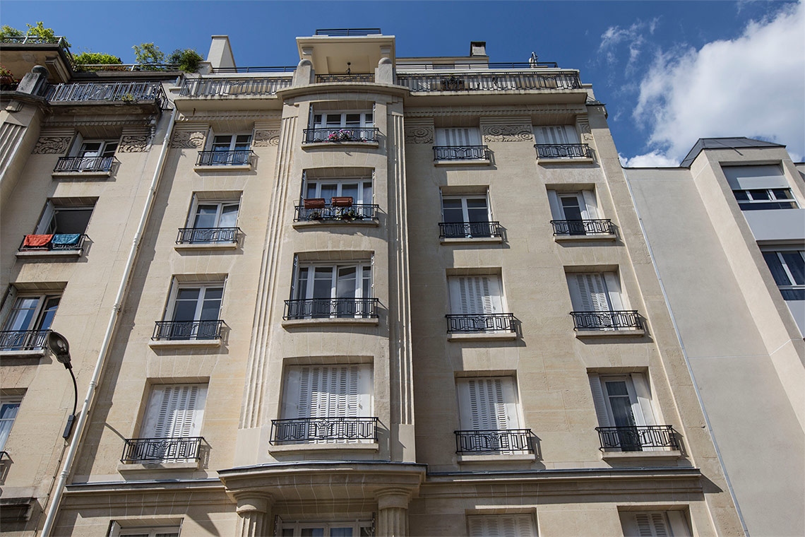 Appartement Paris Rue Charles Delescluze 12