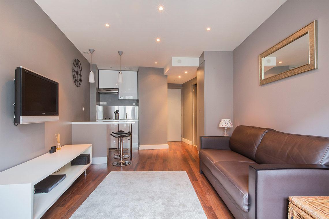 location studio meubl avenue pierre 1er de serbie paris. Black Bedroom Furniture Sets. Home Design Ideas