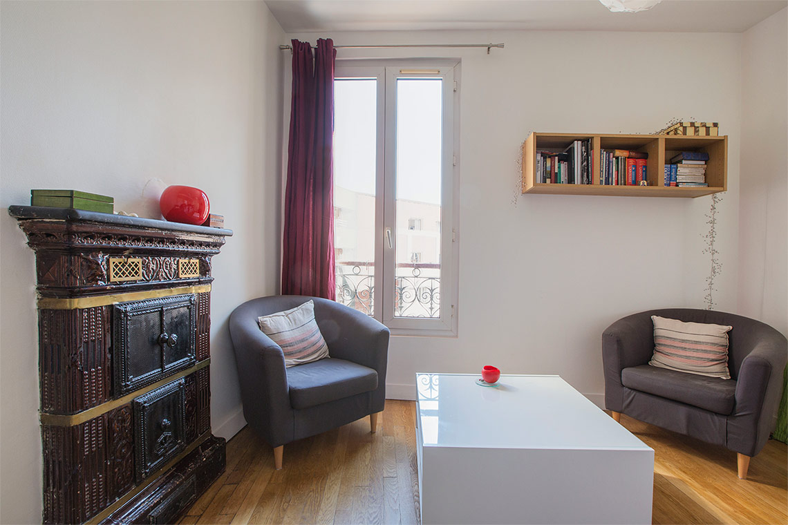Apartment Paris Rue Francoeur 11