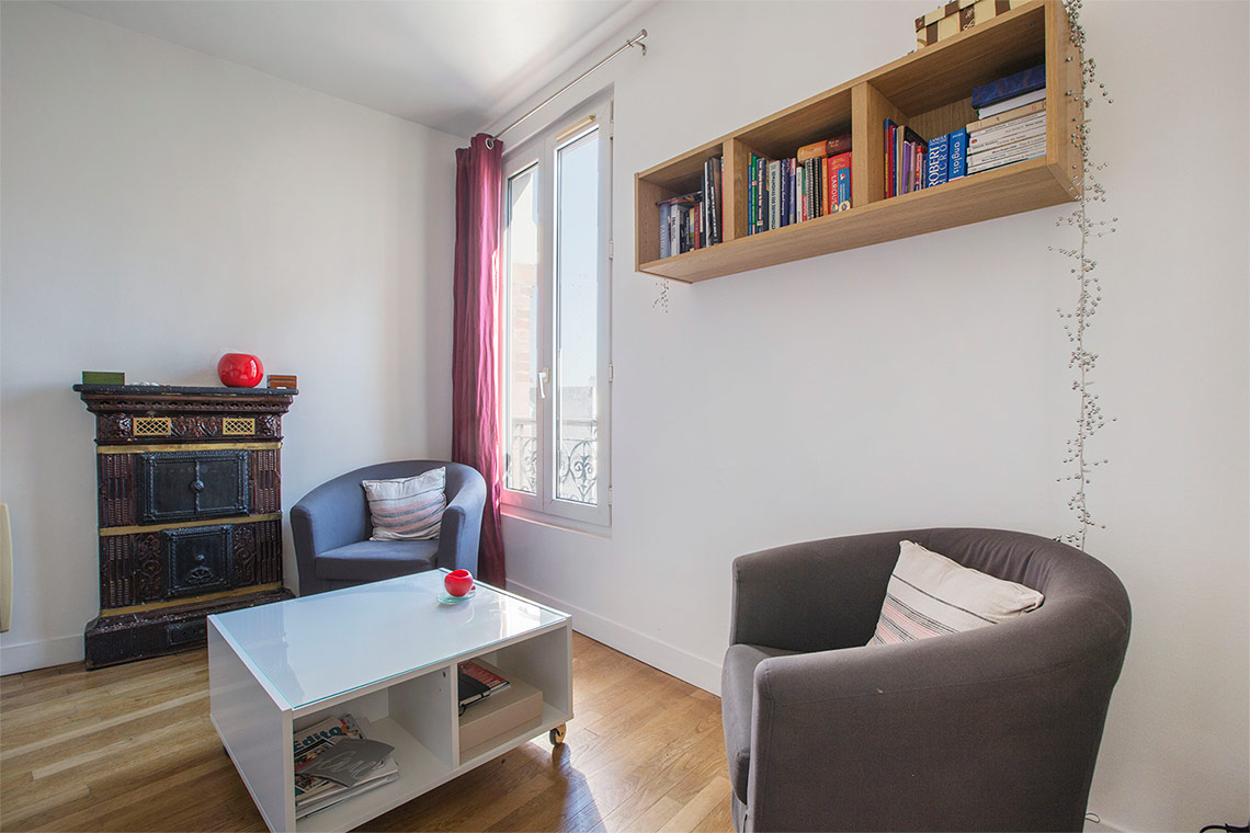 Apartment Paris Rue Francoeur 12