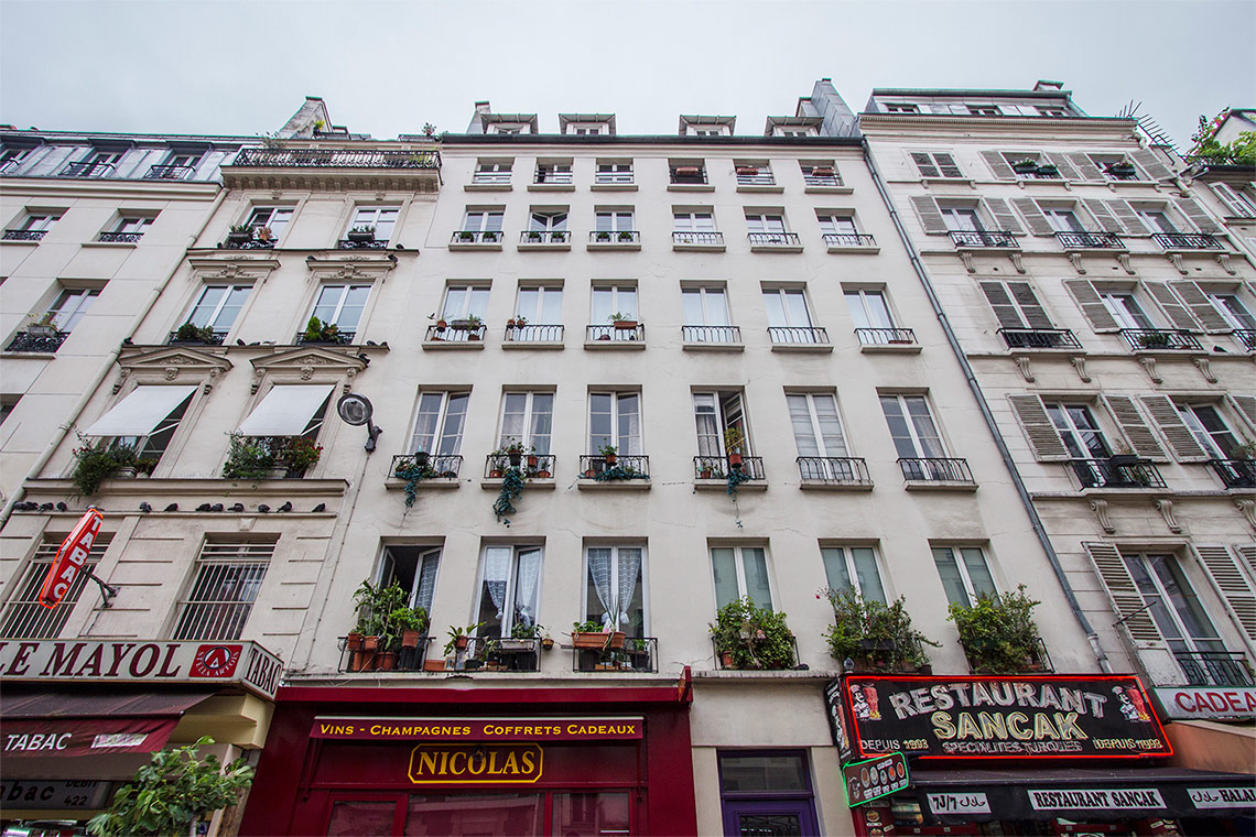 Appartement Paris Rue du Faubourg Saint Denis 4