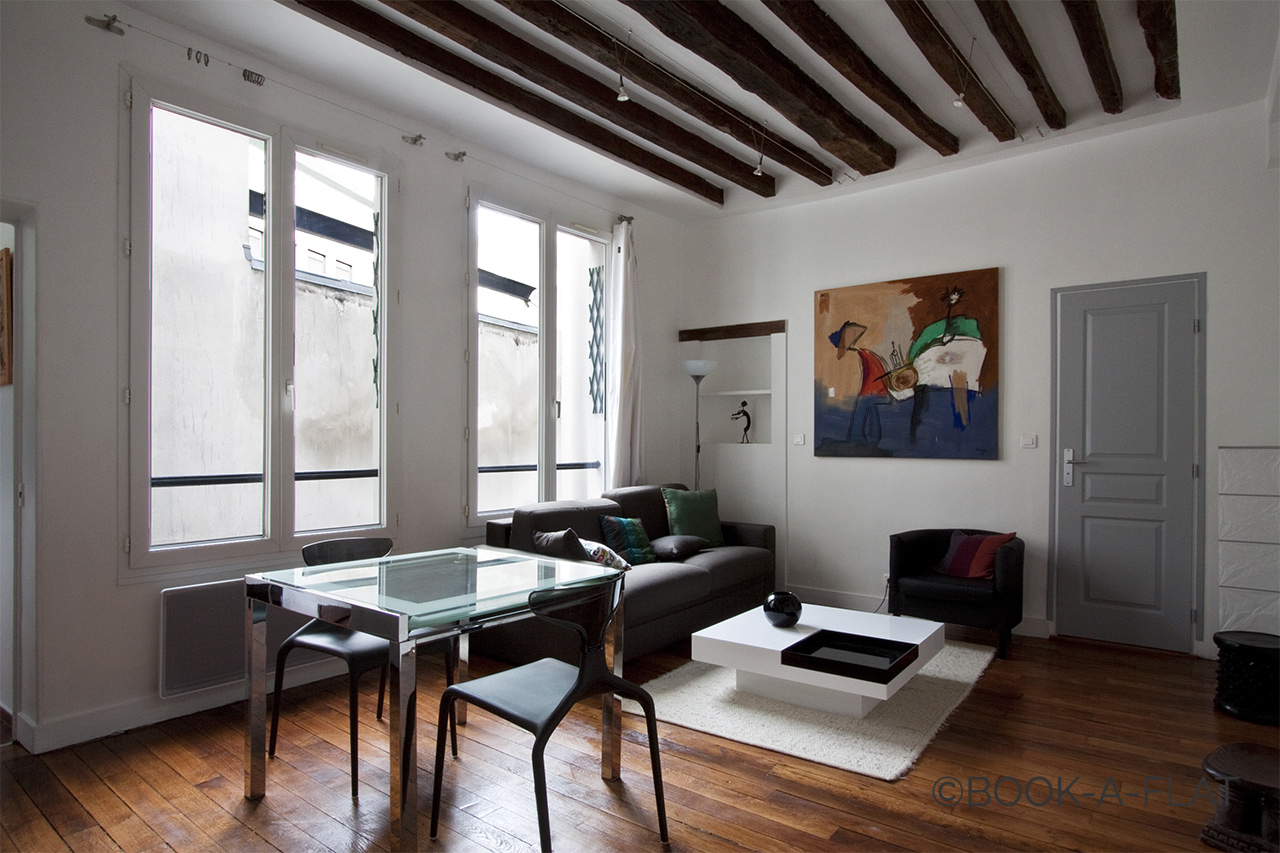 Furnished apartment for rent Paris Rue Molière