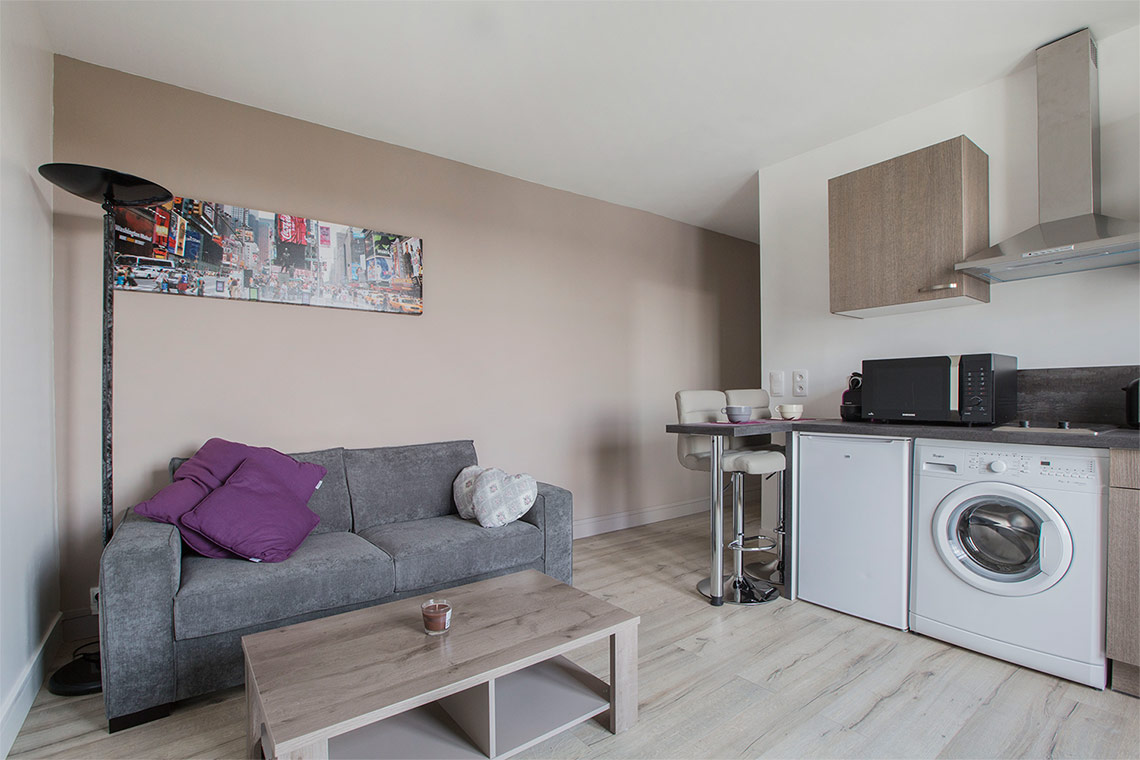 Appartement Meublé à Louer Boulogne Billancourt Rue Denfert-Rochereau ...