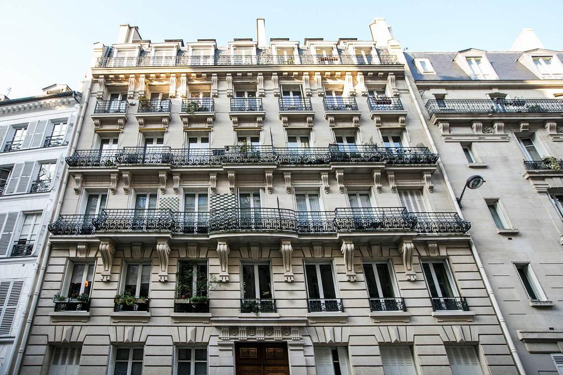 Appartement Paris Rue Coetlogon 17