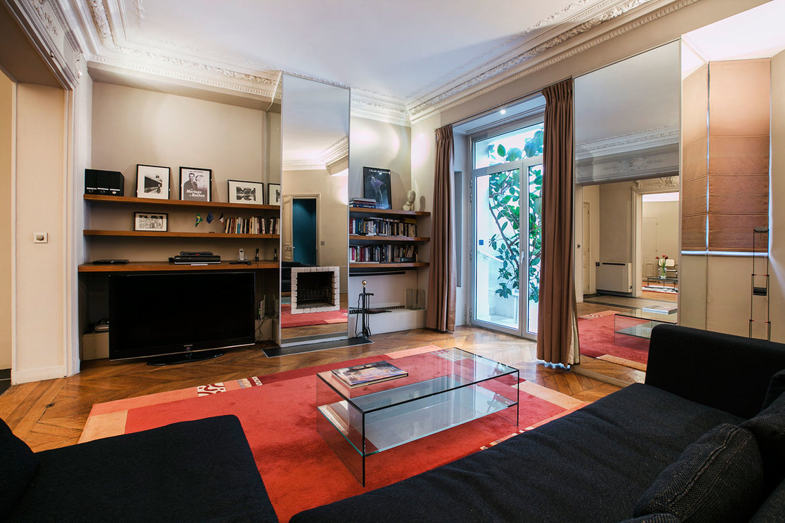 Appartement Paris Rue Coetlogon 2
