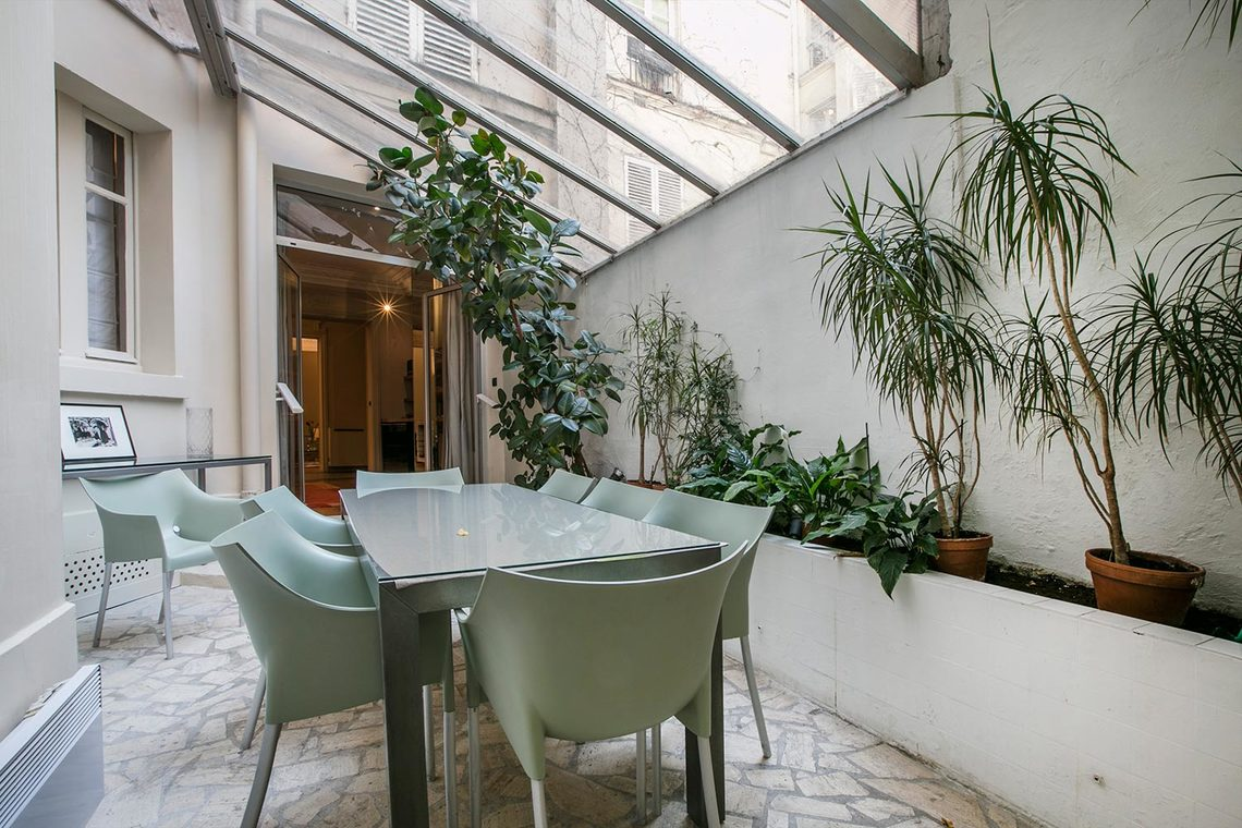 Appartement Paris Rue Coetlogon 14