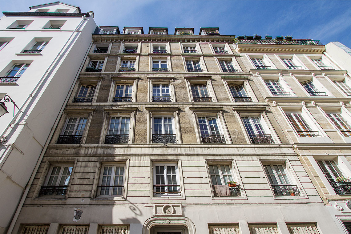 Appartement Paris Rue du Vertbois 12