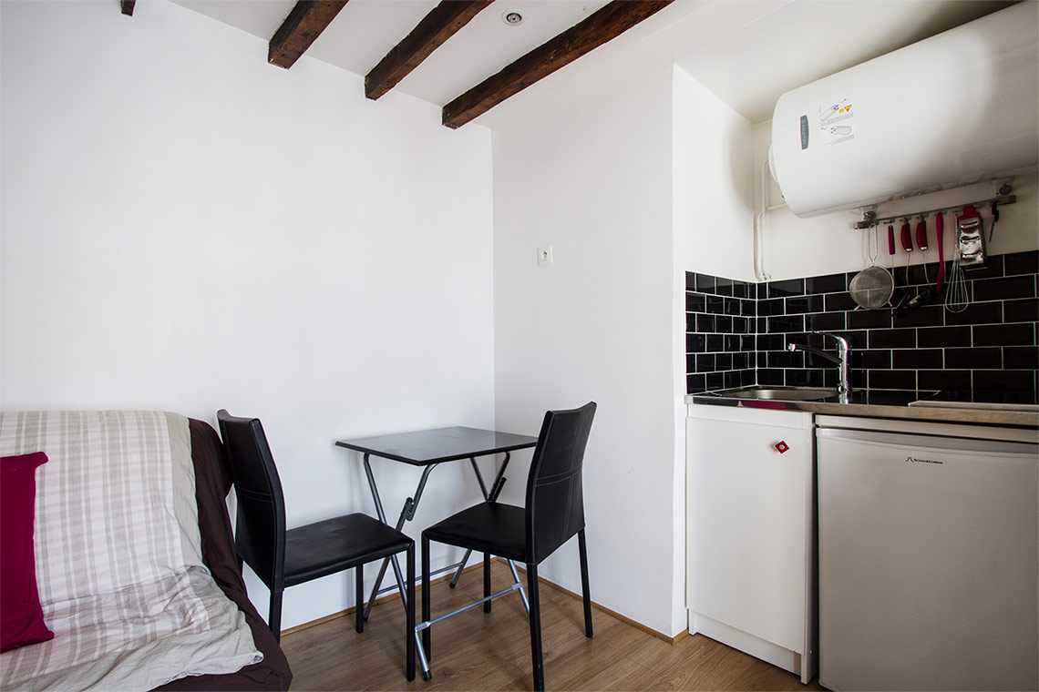 Appartement Paris Rue du Vertbois 3