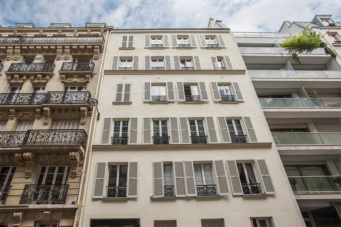 Appartement Paris Rue Brey 13