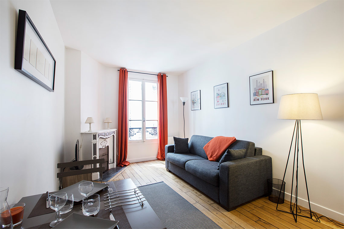 Appartement Paris Rue Brey 4